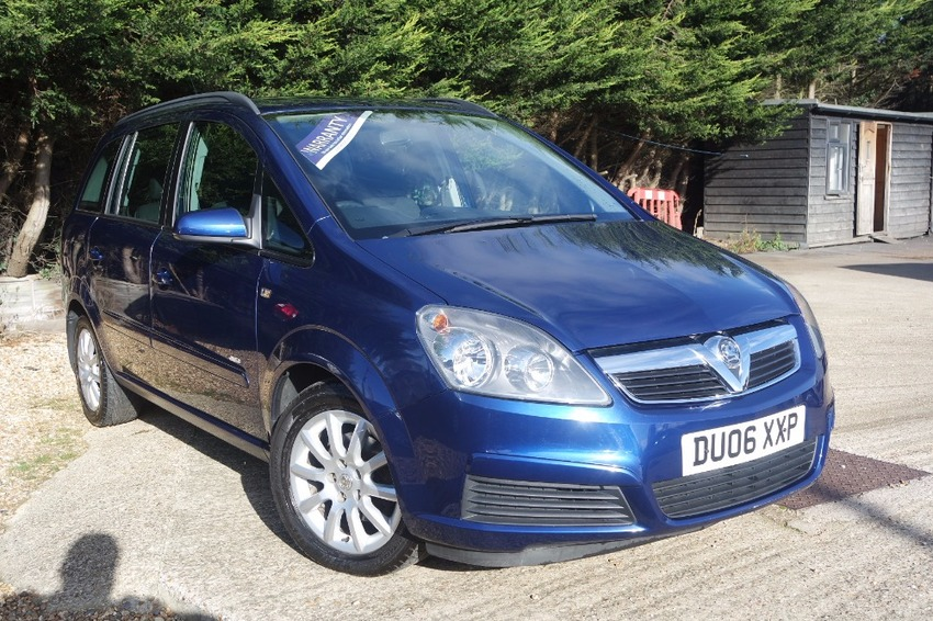 View VAUXHALL ZAFIRA CLUB 1.6 16V