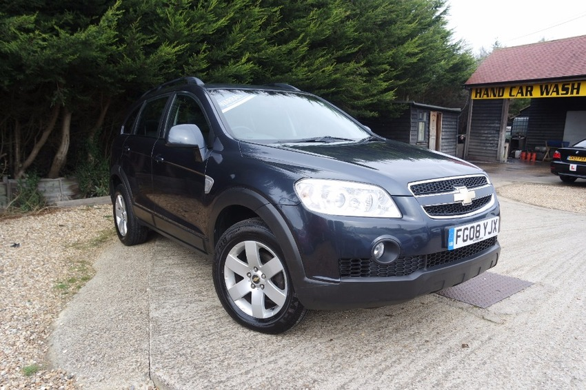 View CHEVROLET CAPTIVA 2.0 LT VCDI 7 SEATER