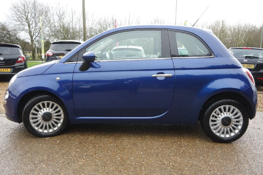 View FIAT 500 1.2 Opt Lounge Automatic