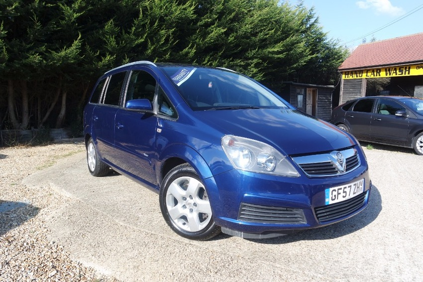 View VAUXHALL ZAFIRA BREEZE 1.9 CDTI